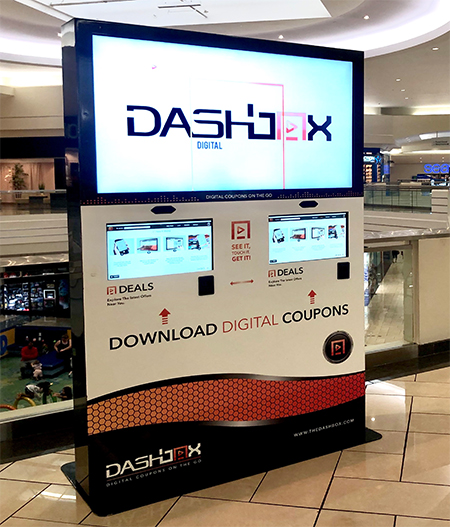 The Dash Box Digital Download COupon Kiosk