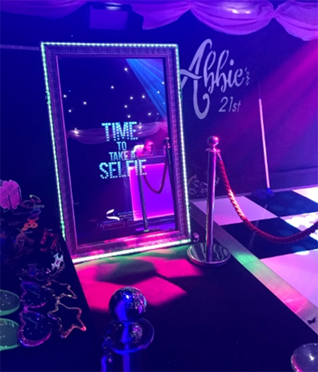 Super Fun Party Rentals Magic Mirror