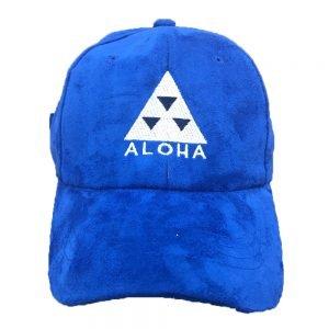 ALoha Clothing Company blue suede