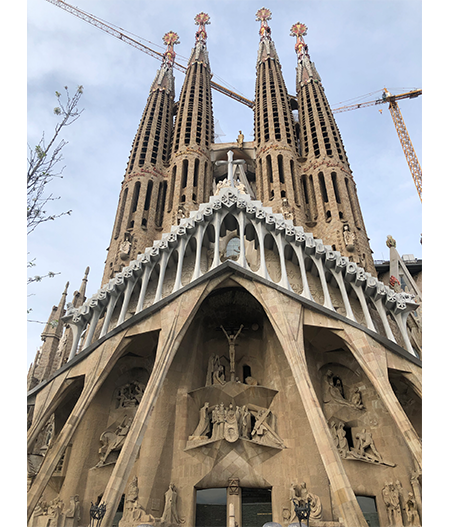 Sagrada Familia gaudi barcelona the visionary photo